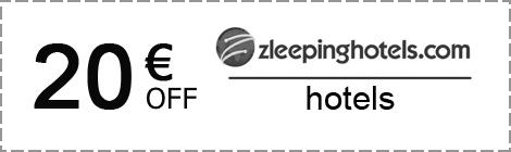 Zleeping Hotels: скидка 20€