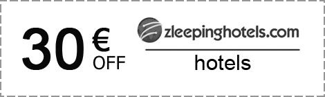 Zleeping Hotels: скидка 30€