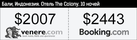 """Отель """"The Colony"""", Бали"""