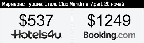 """Отель """"Club Meridmar Apart"""", Мармарис"""
