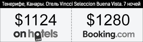 """Отель """"Vincci Seleccion Buena Vista"""", Канары"""