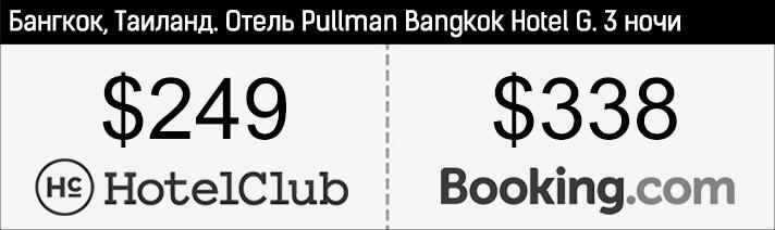 "Hotelclub. Отель ""Pullman Bangkok Hotel G"""